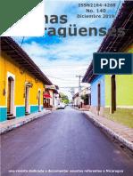 Revista de Temas Nicaragüenses No. 140
