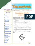 Echo Montfortain 538 Abril 2010