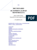 Diccionario de espiritualidad Montfortiana