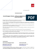 Accord Bouygues Telecom - SFR