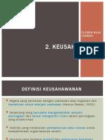 Kum 3_Topik 3Keusahawanan (topik 3 elemen nilai tambah)