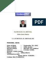 الدكتور مصطفى الشناق رئيس جمعية الجهاز الهضمي والكبد الأردنية   Medics Index Member 10122010 Resume