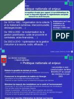 Menu - Politique Nationale Et Enjeux