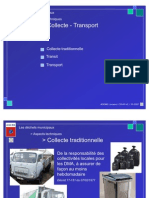 Menu - Collecte - Transport