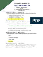 1FIN621 Midterm Paper Fall2010www.vustudents