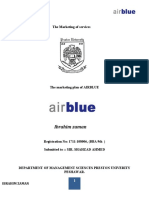 Marketing Plan of Airblue