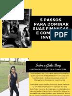 EBOOK 5 PASSOS PARA DOMINAR SUAS FINANCAS E COMECAR A INVESTIR