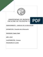 Programa Filosofia de la Educación PLAN 2016 Prof_ Cifelli.doc