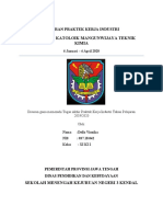 laporan pkl della