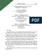 Keely Hopkins v Rosenbaum (Oregon Supreme Court NRA Ballot Case.