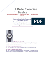 Heart Rate Exercise Basics