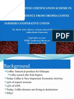Analysis of Coffee Certification Scheme in Ethiopia Evidence From Oromia Coffee Farmers Cooperative Union
