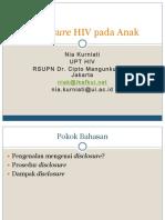 HIV Disclosure pada Anak