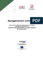 brosura managementul schimbarii