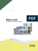 Bilan Social 2006