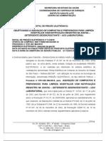 PREGÃO 114 - AQUISIÇÃO DE DETERGENTE DE USO DE LABORATORIO 1984