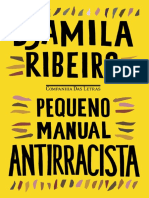 Pequeno manual antirracista. RIBEIRO, D.
