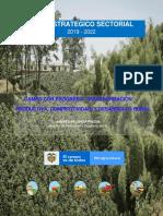 PLAN_ESTRATEGICO_SECTORIAL_2019_2022 Sector Agropecuario  Colombiano
