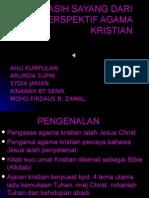 NILAI KASIH SAYANG DARI PERSPEKTIF AGAMA KRISTIAN