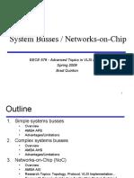 System Bus Noc