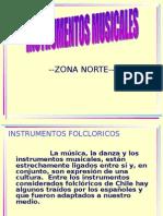 InstrumentosMusicalesZonaNorte