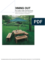 Woodworking - Plans - Outdoor Table And Bench.pdf