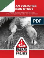 Balkan Vultures Poison Study Nov 2018