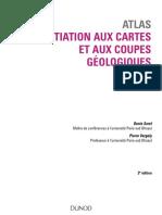 Atlas Dinitiation Aux Cartes Et Aux Coupes Géologiques - 2e Édit