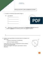 Matemática 6º Ano - 3º Miniteste de Matemática