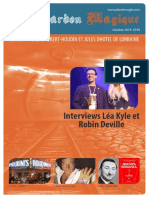 Le Chardon Magique magic magazine n.199 October 2019
