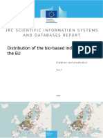 Distribution of the Bio-based Industry in the EU