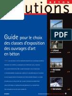 Guide pour le choix des classes d'exposition des OA en beton