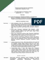 Per-48-2010 Tata Cara Pelaksanaan Prosedur Persetujuan Bersama (Mutual Agreement Procedure) Berdasarkan Persetujuan Penghindaran Pajak Berganda