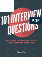 101 Interview Questions