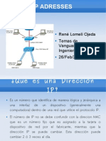 Presentacion IP Adresses