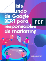 Análisis Profundo De Google - BERT Para Responsables De Marketing