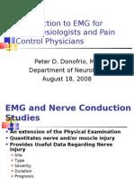 EMG anesthes