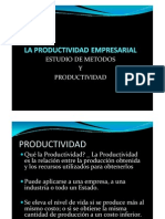 La Productividad Empresarial
