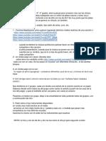 JUEGOS planificacion (2°, 3°, 4° grado)