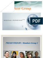 Group 1 Case Study 7 - Acer