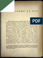 Nota sobre la paz - Jorge Luis Borges (1945)