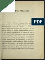 El coronel Ascasubi - Jorge Luis Borges (1931)