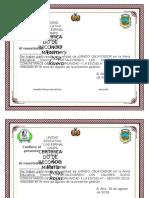 diploma  DIRECCION DE MOCOCMOCO