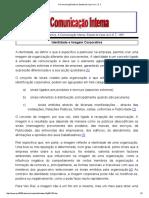 A Comunicação Interna. Estudo de Caso no C. E8