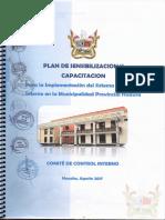 Plan de Sensibilización y Capacitacion