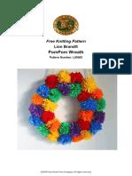 PomPom Wreath (Crafts)