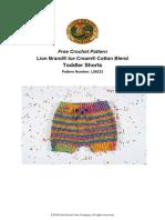 Toddler Shorts (Crochet)
