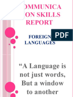 Communication Skills Report1