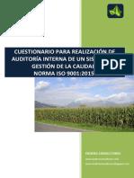 Chec list auitoria-ISO-9001-2015
