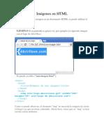 Imágenes y tablas en HTML